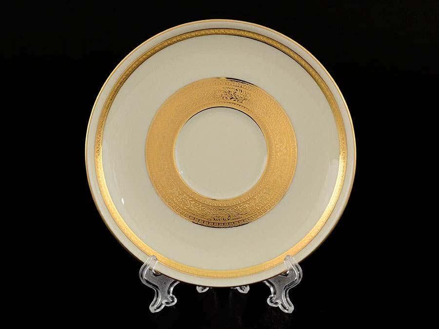 Crem Gold 9321 Набор блюдец  Falkenporzellan 15 см