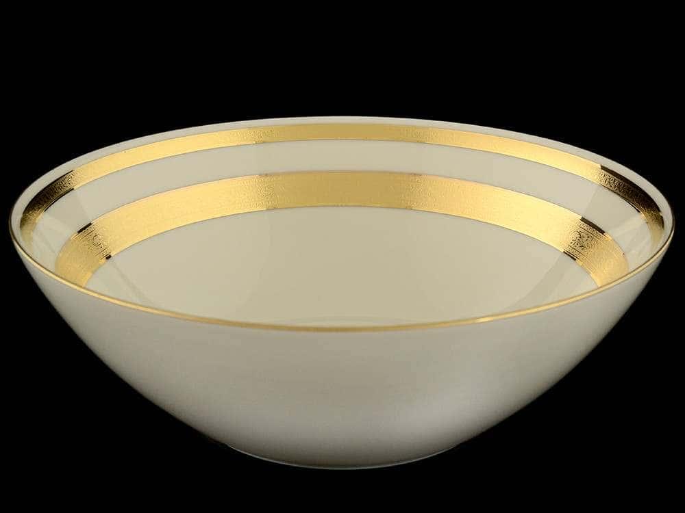Crem Gold 9321 Салатник Falkenporzellan 24 см