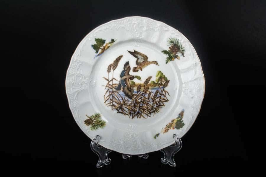 Бернадотт Охота Набор тарелок 17 см из  фарфора