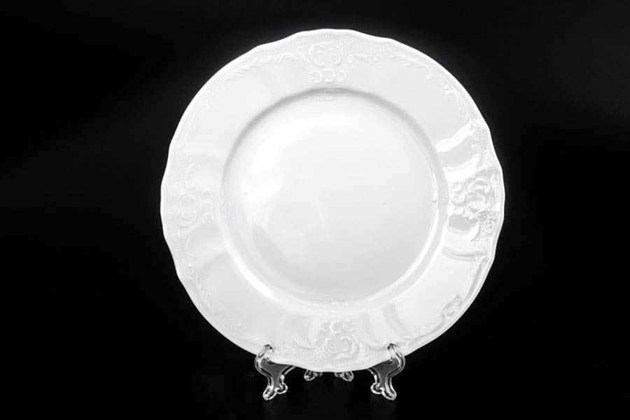 Бернадотт Недекорированный Набор тарелок 17 см из фарфора