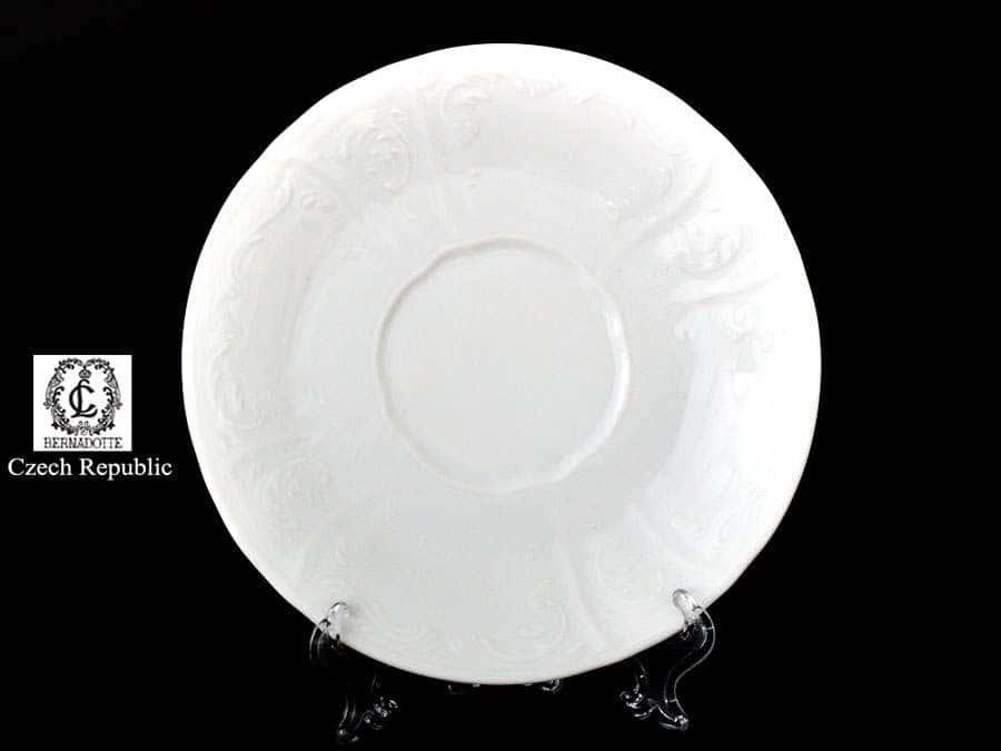 Бернадотт Недекорированный Набор блюдец 15 см