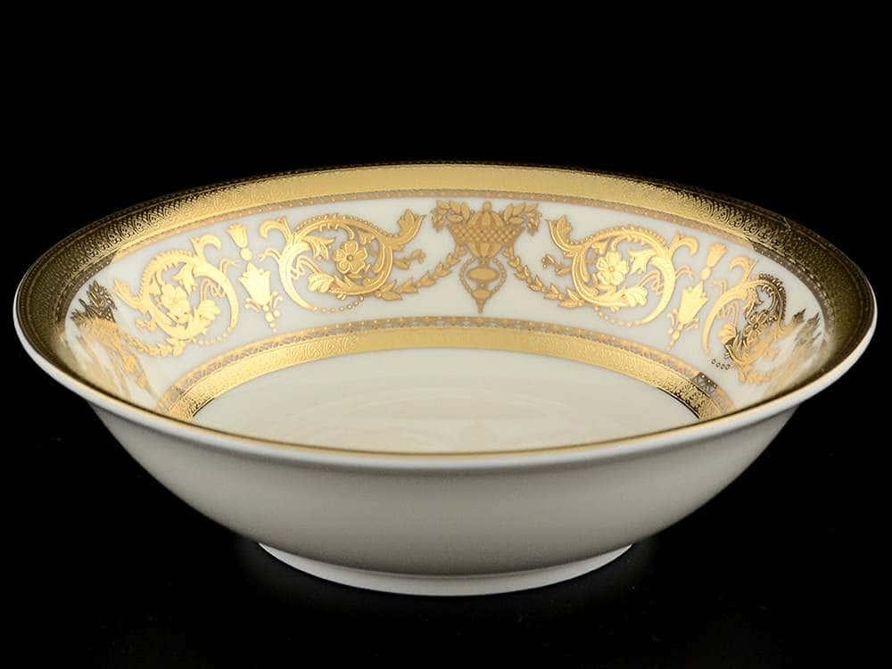 Constanza Crem Imperial Gold Набор салатников Falkenporzellan 14 см