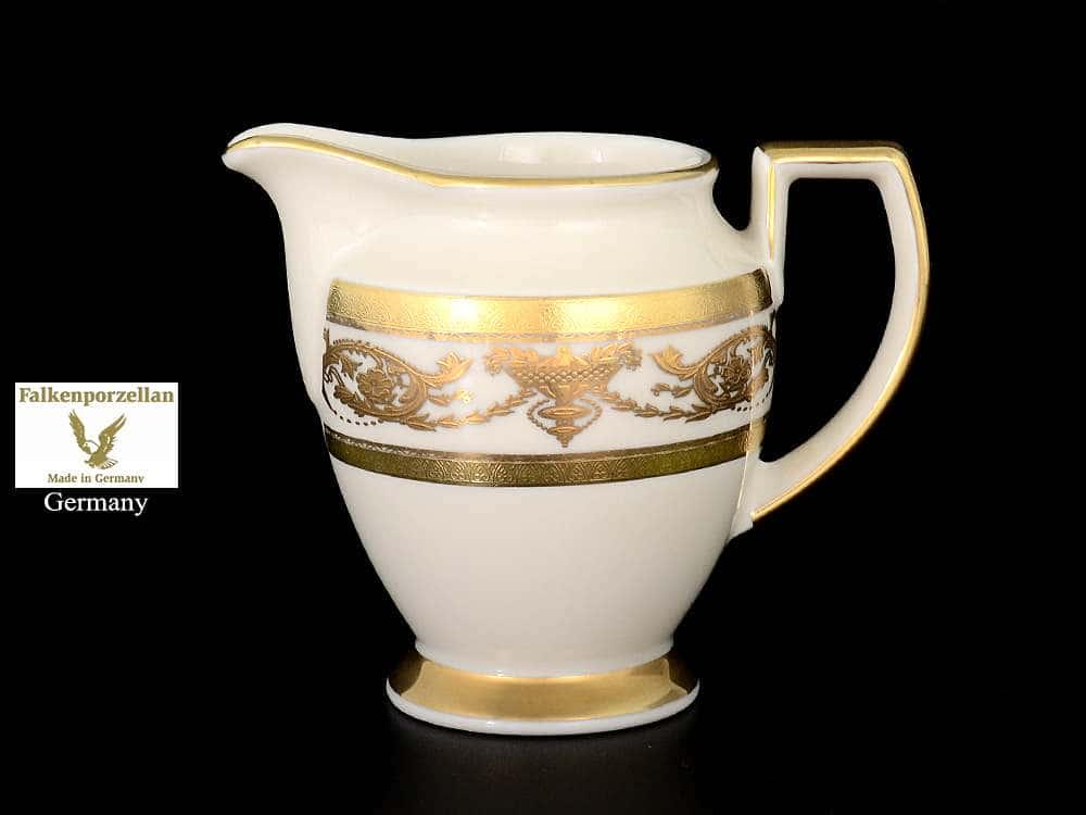 Constanza Imperial Crem Gold Молочник F-P из фарфора