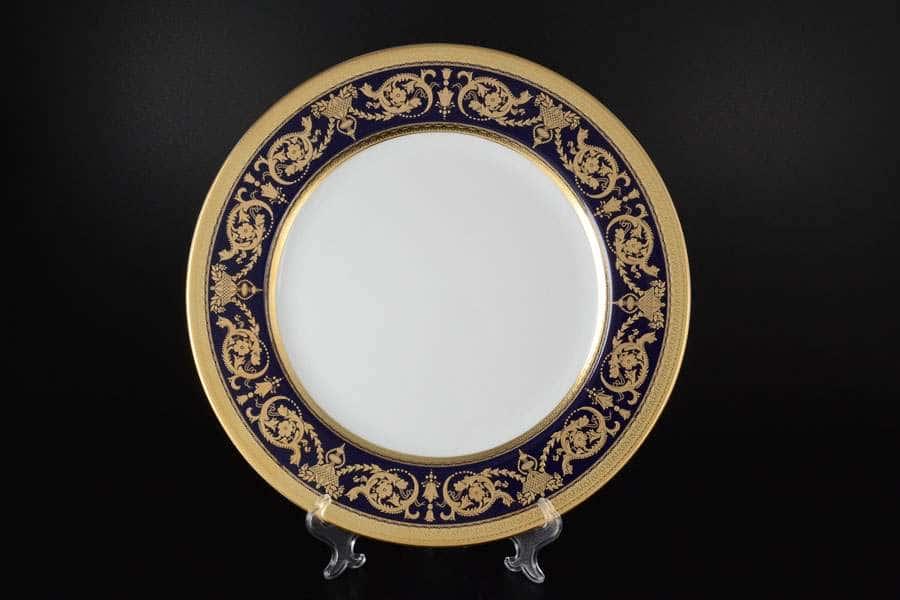 Imperial Cobalt Gold Блюдо круглое 32 см Falkenporzellan