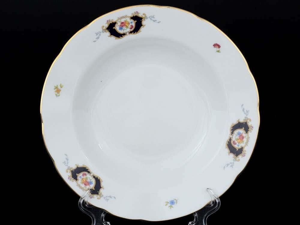 Синий глаз Набор тарелок глубоких Thun 22 см