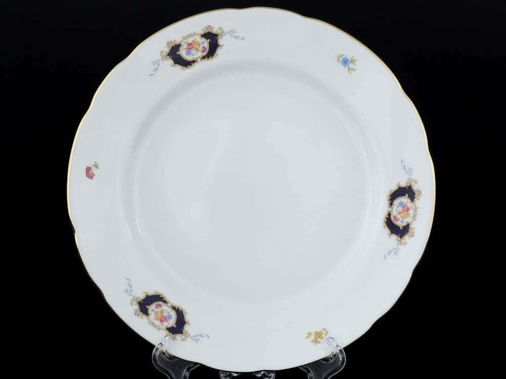 Синий глаз Набор тарелок Thun 21 см из фарфора