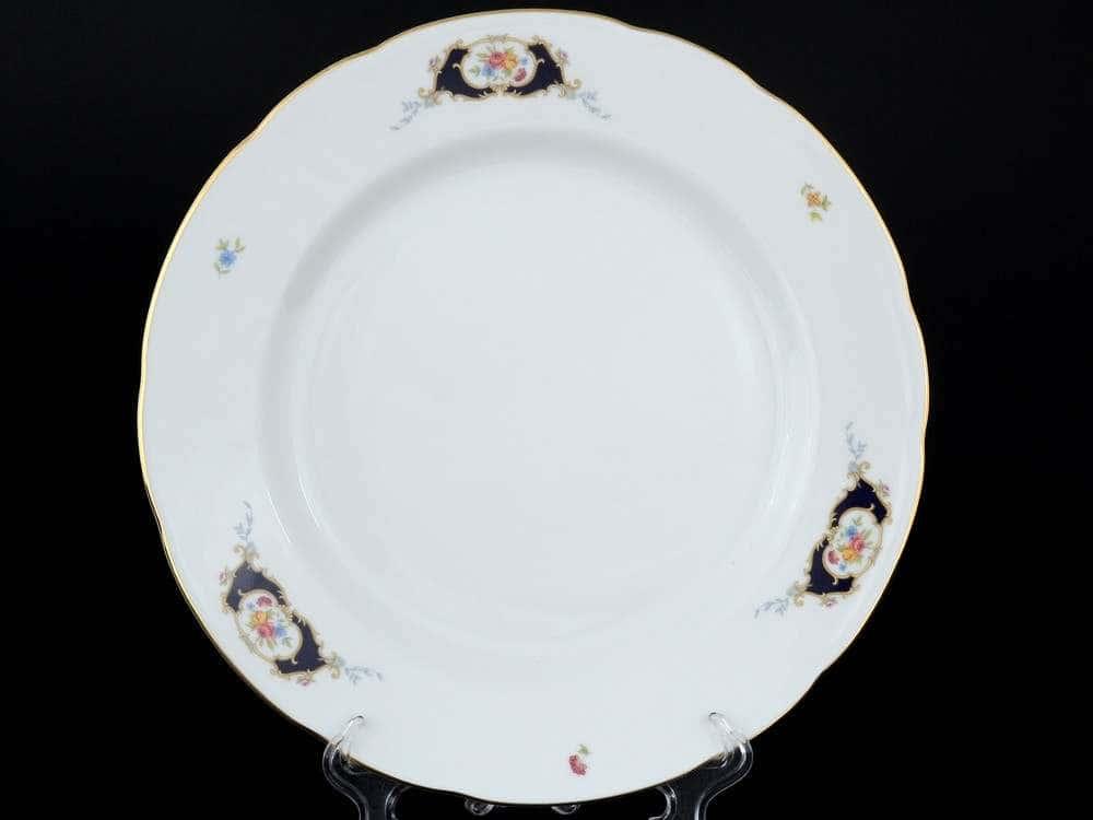Синий глаз Набор тарелок Thun 26 см из фарфора