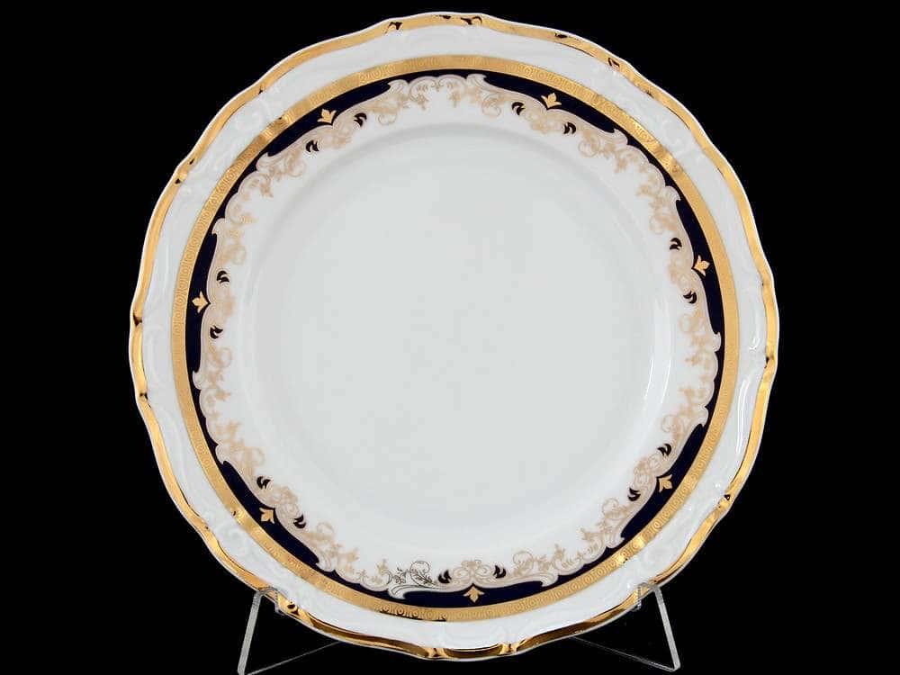 Мария Луиза Синяя лилия Набор тарелок Thun 19 см