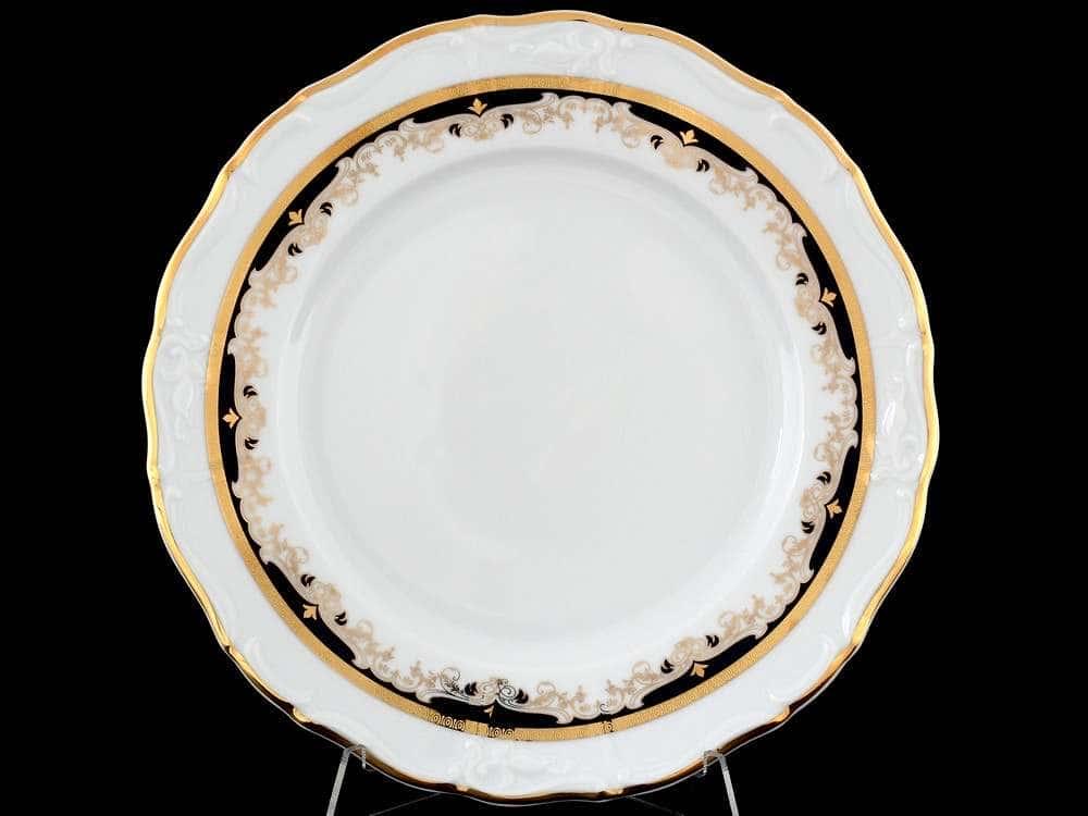 Мария Луиза Синяя лилия Набор тарелок Thun 25 см