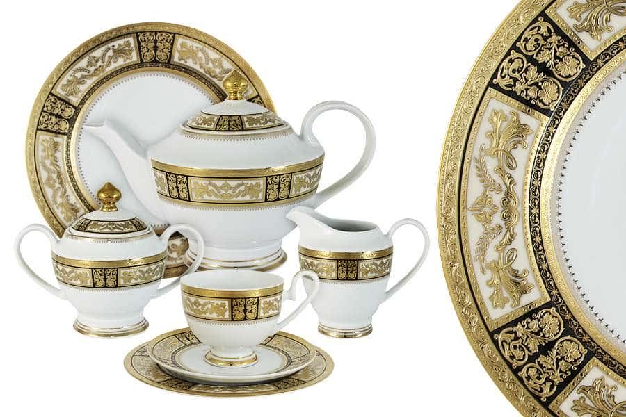 Чайный сервиз Елизавета 42 предмета на 12 персон Midori Китай