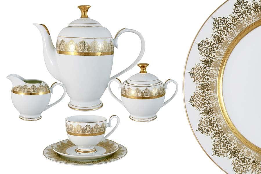 Чайный сервиз 23 предмета на 6 персон Бруней  Midori  Китай