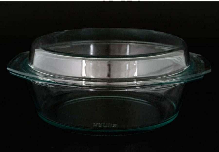 Симакс  Кастрюля с крышкой 2,5л из жаропрочного стекла