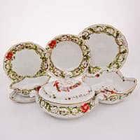Цветочная фантазия Сервиз столовый Rosenthal 22 предмета