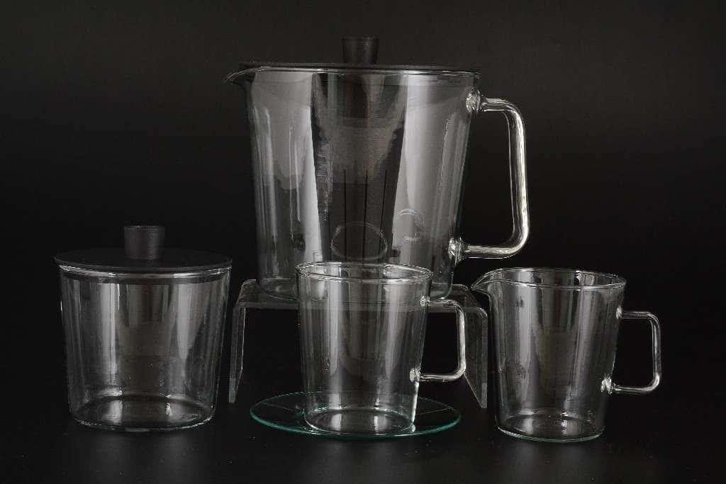 Симакс Чайный сервиз из стекла на 6 персон 15 предметов