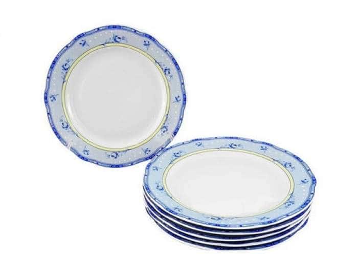 Мэри-Энн, Нежные цветы, Набор тарелок мелких 19 см