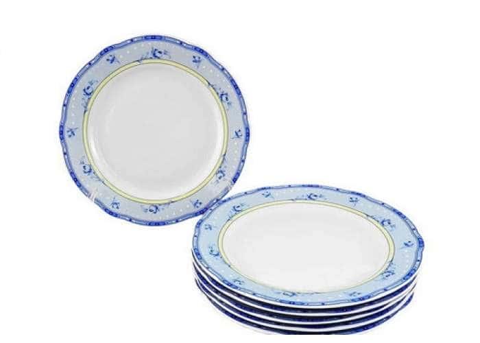 Мэри-Энн,Нежные цветы, Набор тарелок мелких 6 шт. 25 см