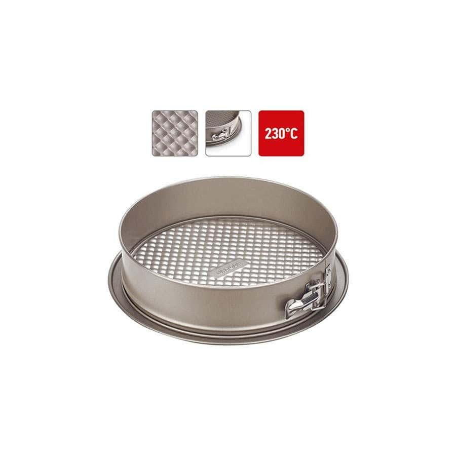 Rada Форма для выпечки разъемная стальная антипригарная 26х7 см Nadoba