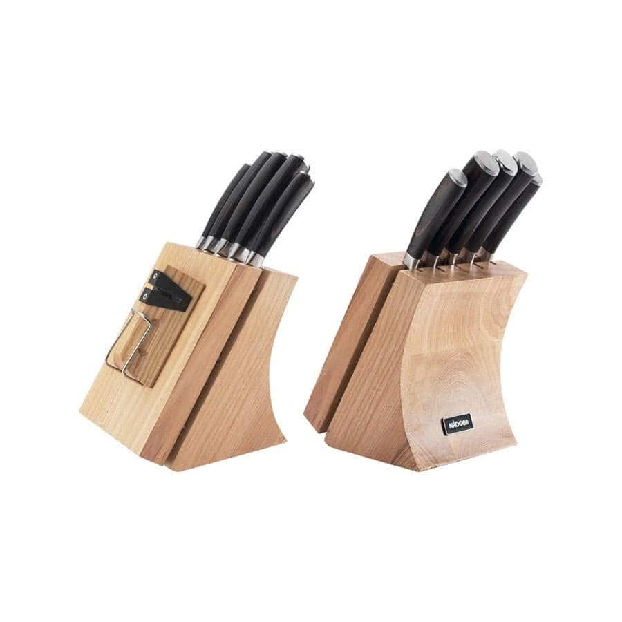 Dana Набор из 5 кухонных ножей и блока для ножей с ножеточкой Nadoba