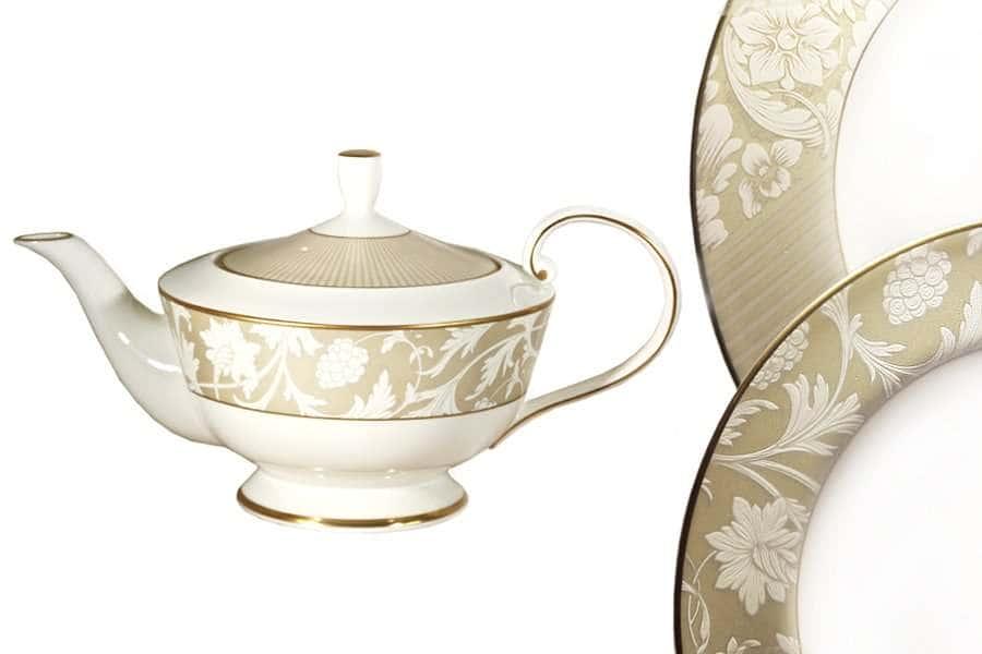 Чайник с крышкой Монте Карло Narumi  Индонезия