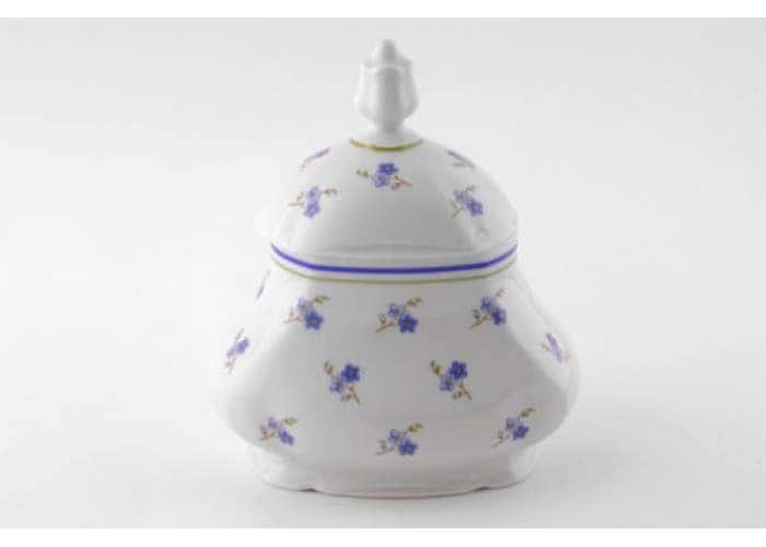 Мэри-Энн, Синие цветы, Шкатулка для чайных пакетиков
