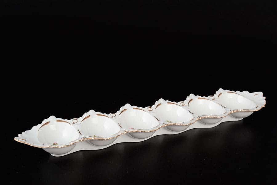 Полевой цветок Корона Поднос для яиц QC 34 см