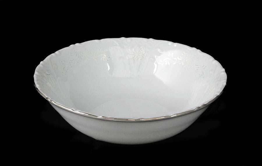 Лиана Платиновый узор  Набор салатников MZ 16 см
