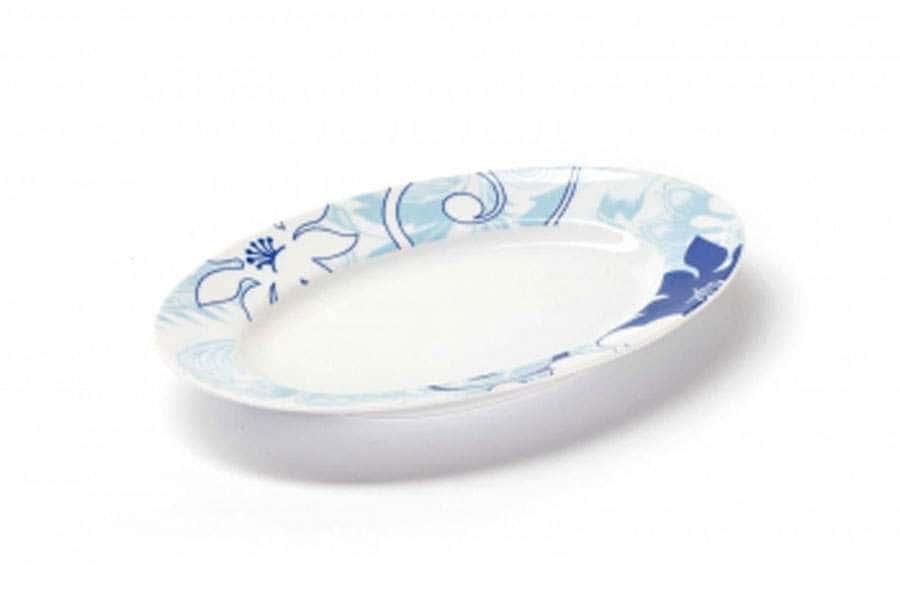 Блюдо овальное маленькое 23 см Bleu Sky 2230 Тунис