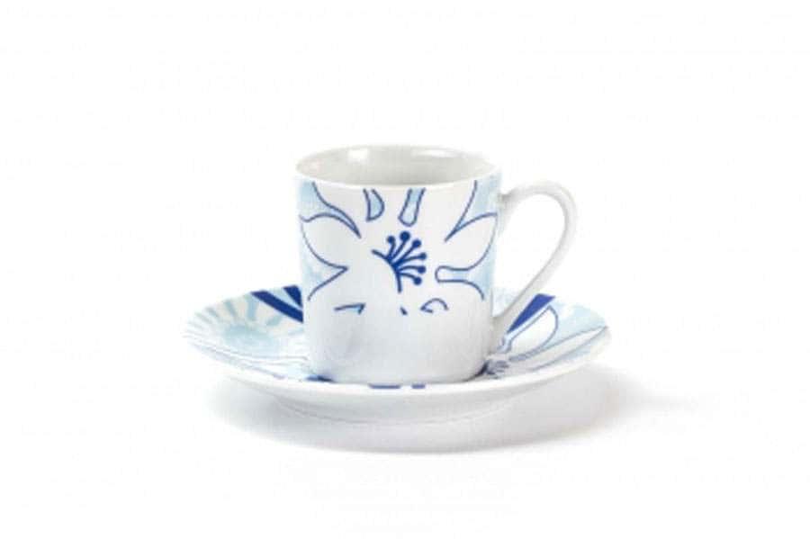 Набор кофейных пар 12 предмета Bleu Sky 2230 Тунис