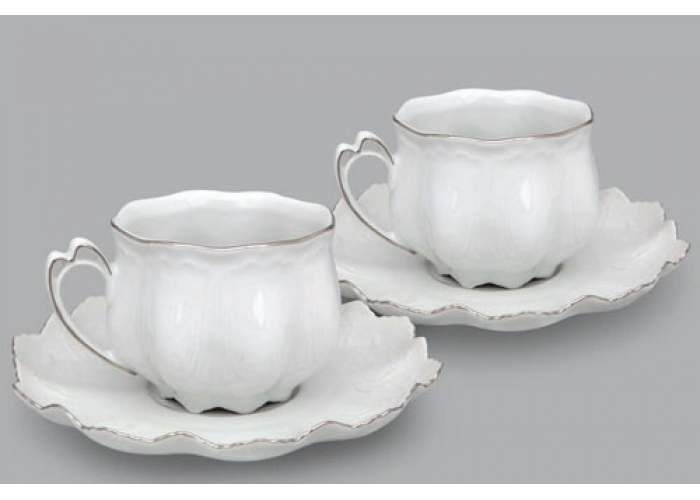 Виктория, Набор из двух чайных пар, 200 мл