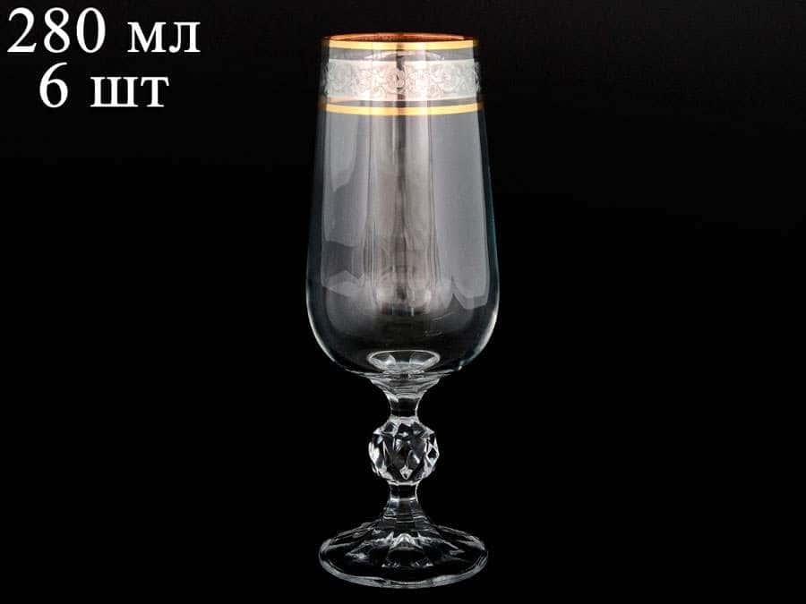 Клаудия Панто V-D Набор фужеров для шампанского Bohemia 280 мл