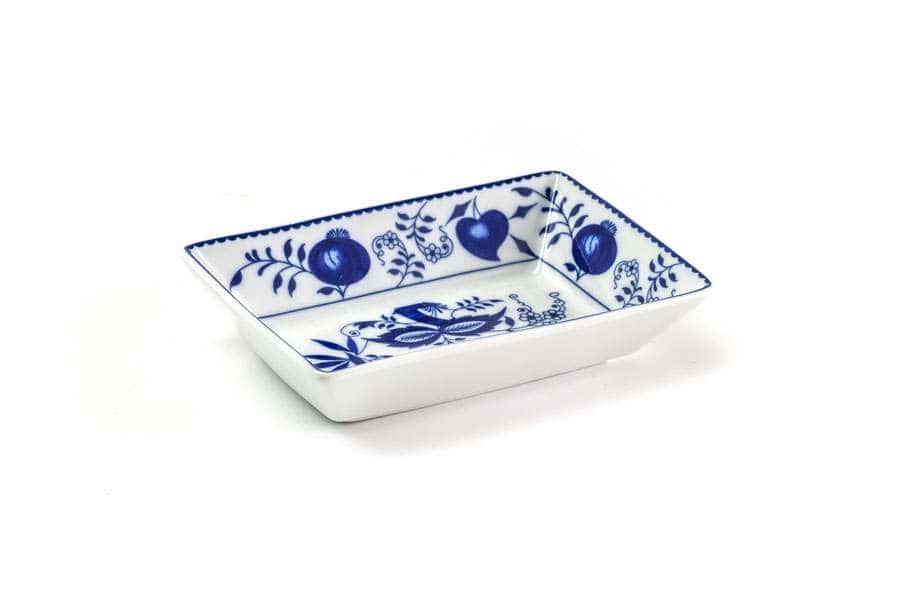 Блюдо прямоугольное Д13 х 9 х Н3 см Ognion Bleu 1313 Тунис