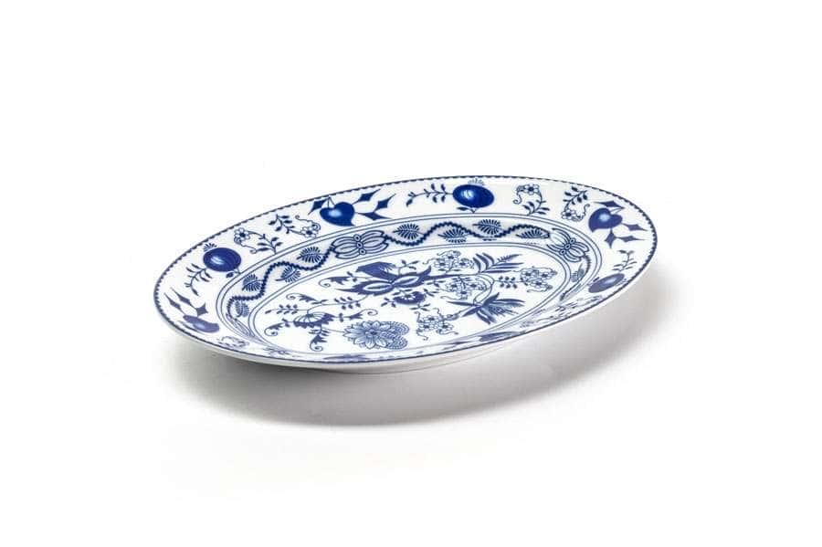 Блюдо овальное маленькое 23 х 15,5 см Ognion Bleu 1313 Тунис