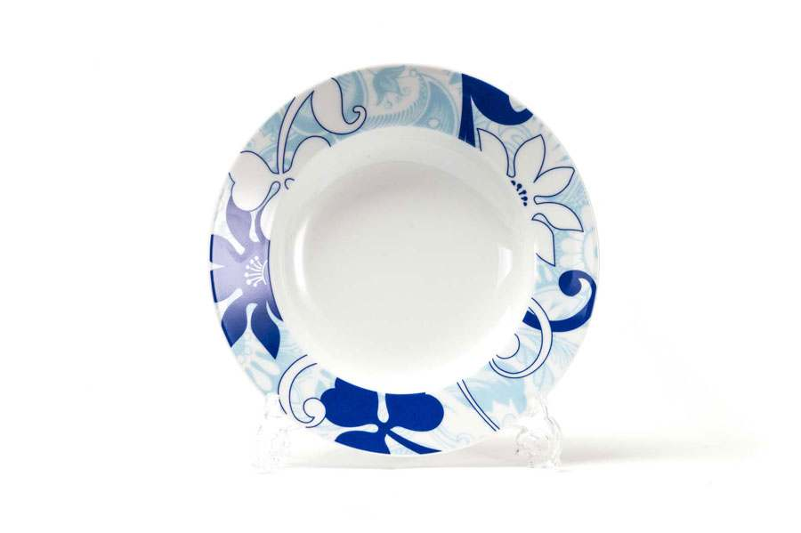 Набор глубоких тарелок 22 см 6 шт BLEU SKY 2230 Тунис