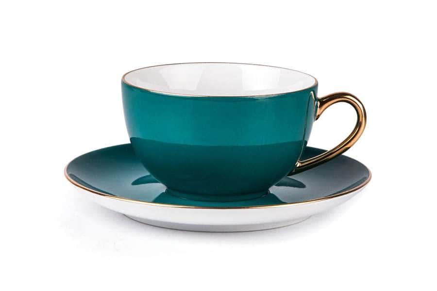 MONALISA 3123 Набор чайных пар 210 мл 6 шт 12 предмета RAINBOW OR Тунис