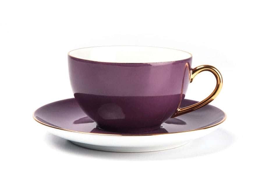 MONALISA 3124 Набор чайных пар 220 мл 6 шт 12 предмета RAINBOW OR Тунис