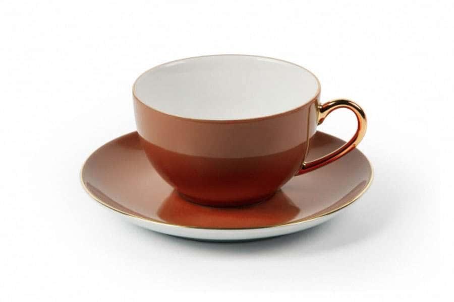 MONALISA 3126 Набор чайных пар 220 мл 6 шт 12 предмета RAINBOW OR Тунис