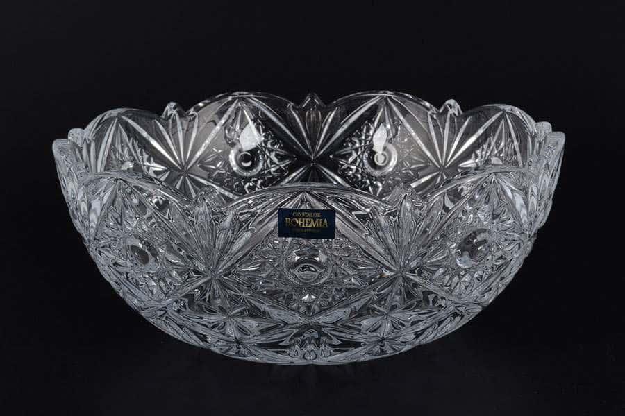 MIRANDA Ваза для конфет Crystalite Bohemia 22 см 33782