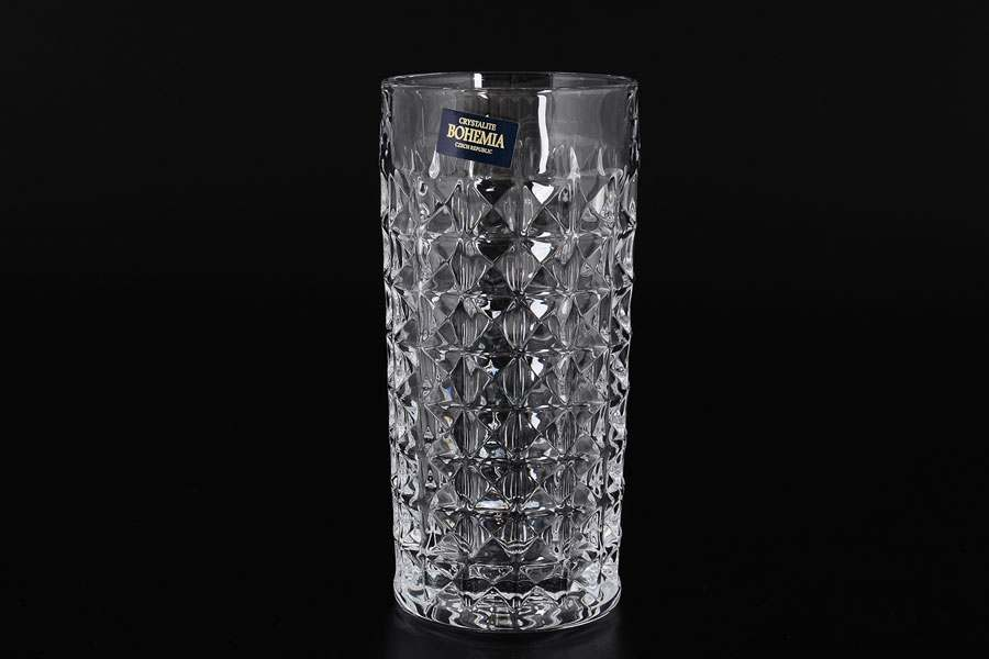 DIAMOND Набор стаканов для воды Crystalite 300 мл