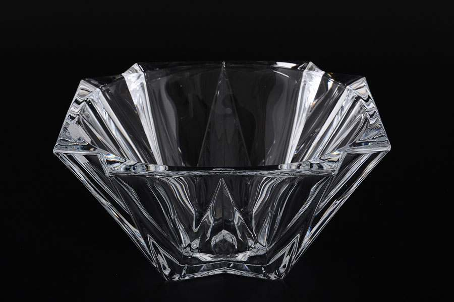 METROPOLITAN Конфетница стеклянная Crystalite 30,5 см
