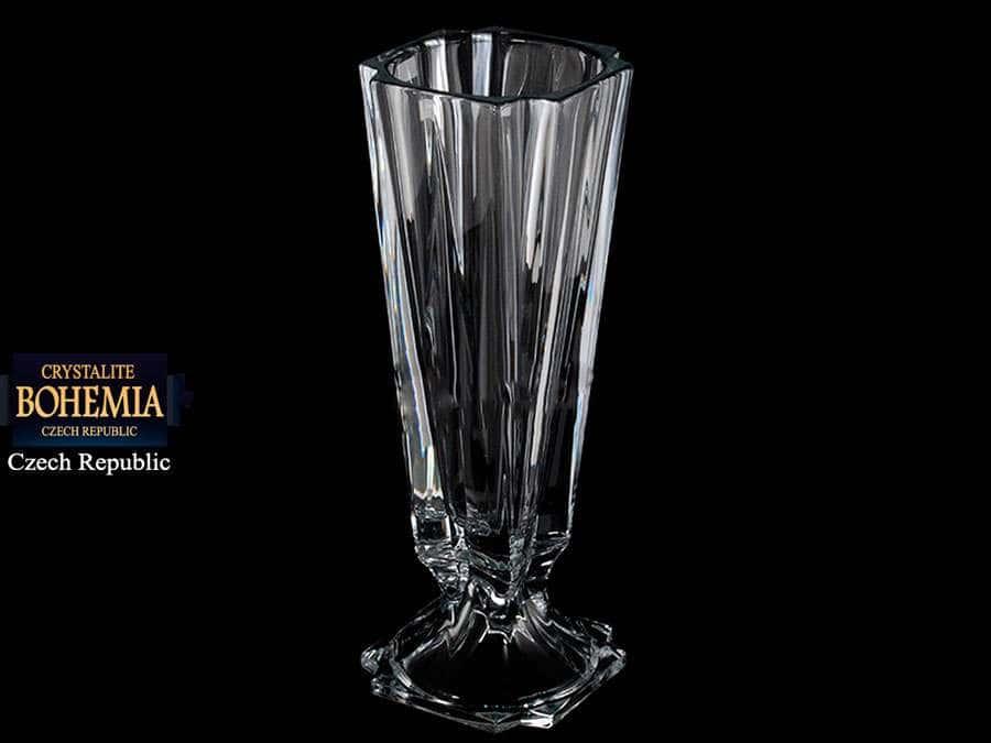 METROPOLITAN Ваза для цветов н/н Crystalite Bohemia 39 см