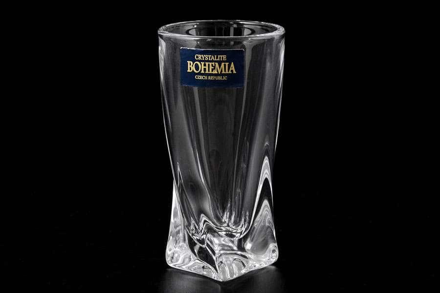 QUADRO Набор стопок для водки Crystalite Bohemia 60 мл