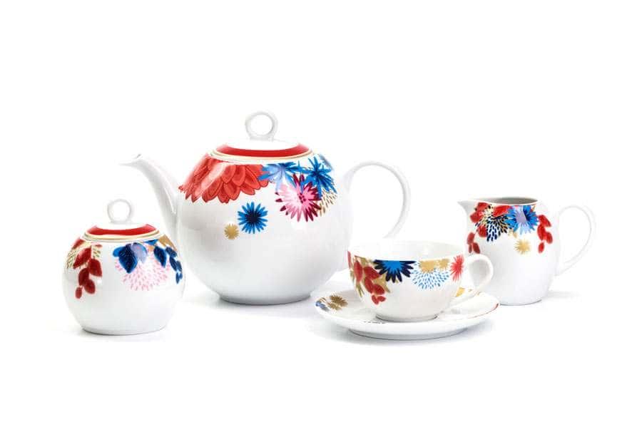 MIMOSA Сервиз чайный 15 предмета Ilionor 2227 Тунис