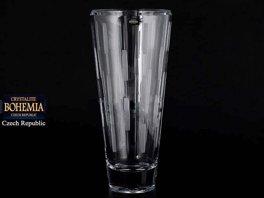 LUCIA Ваза для цветов Crystalite Bohemia 35 см