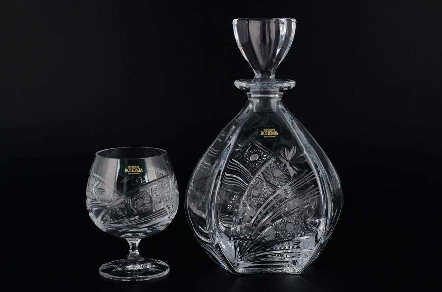 LAGUNA Набор для вина Crystalite Bohemia 3 предмета