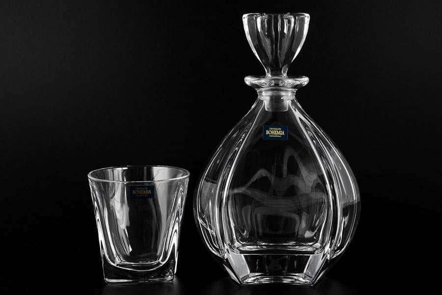 LAGUNA Набор для виски 7 предметов Crystalite Bohemia
