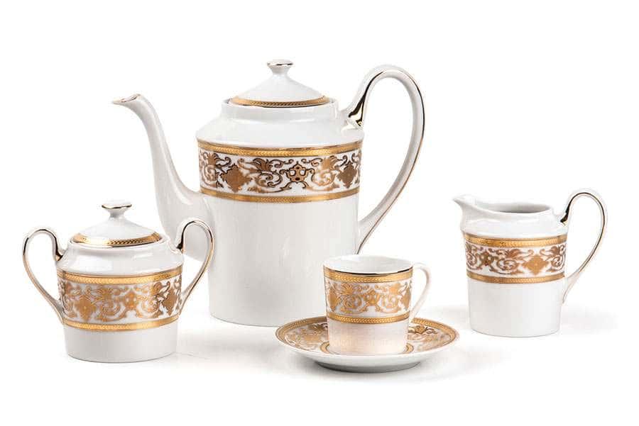 ALYSSA 0632 Сервиз кофейный 15 предмета Ramses Or Тунис
