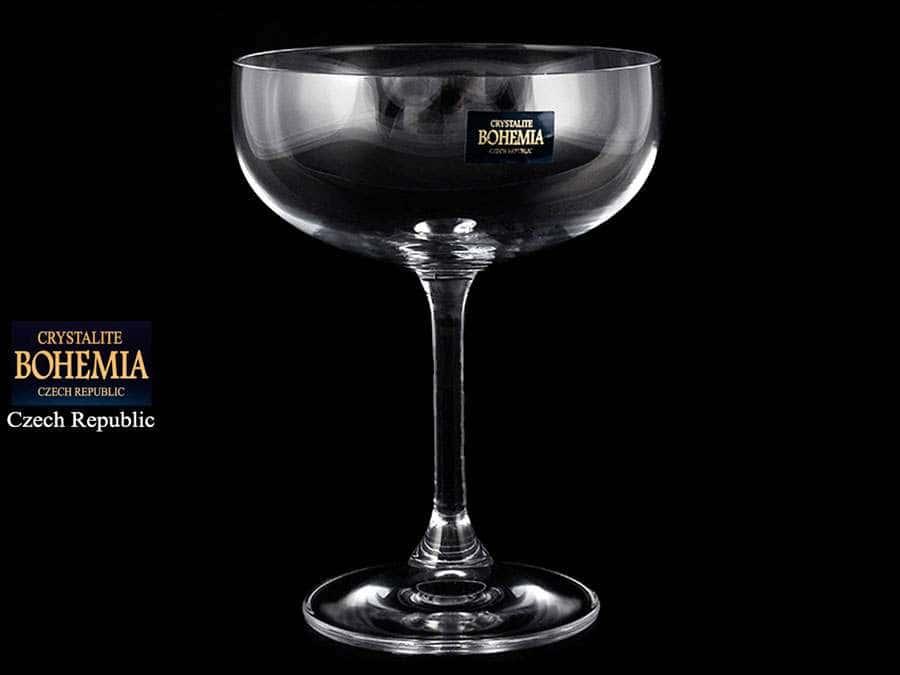 KLARA Набор бокалов для мартини Crystalite 200 мл