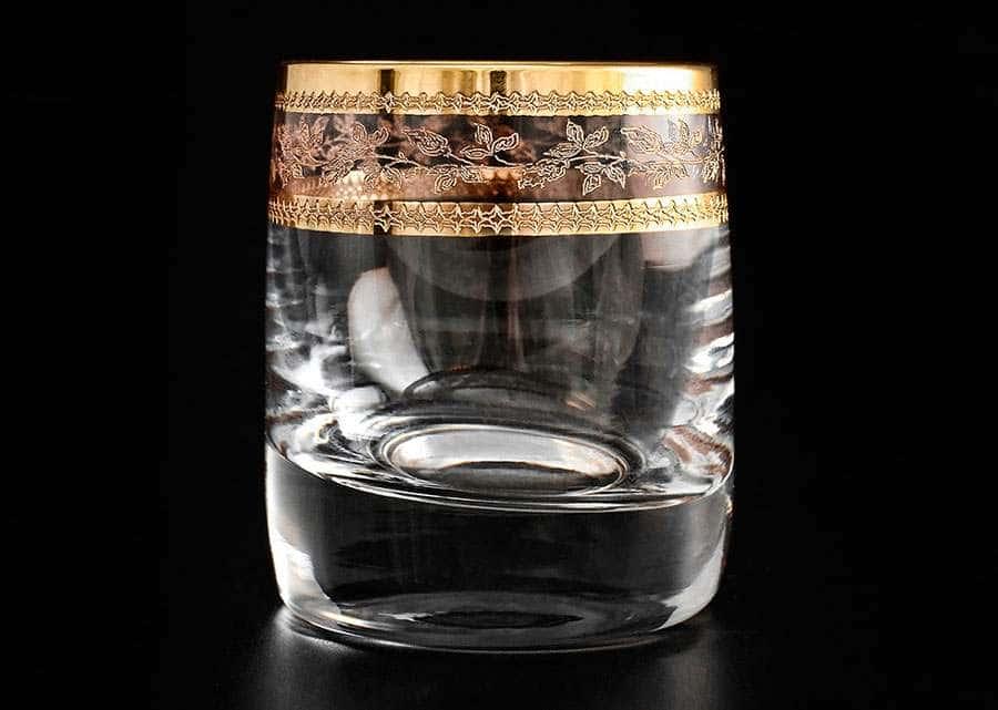 Идеал Золотой лист V-D Набор стопок для водки 60 мл