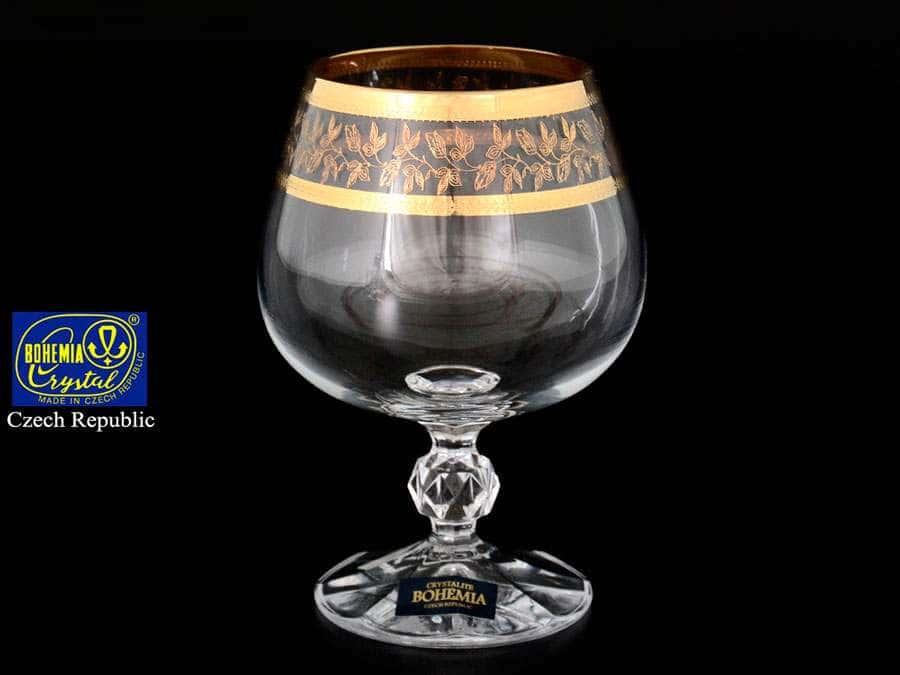 Золотой Лист V-D Набор бокалов для бренди 250 мл
