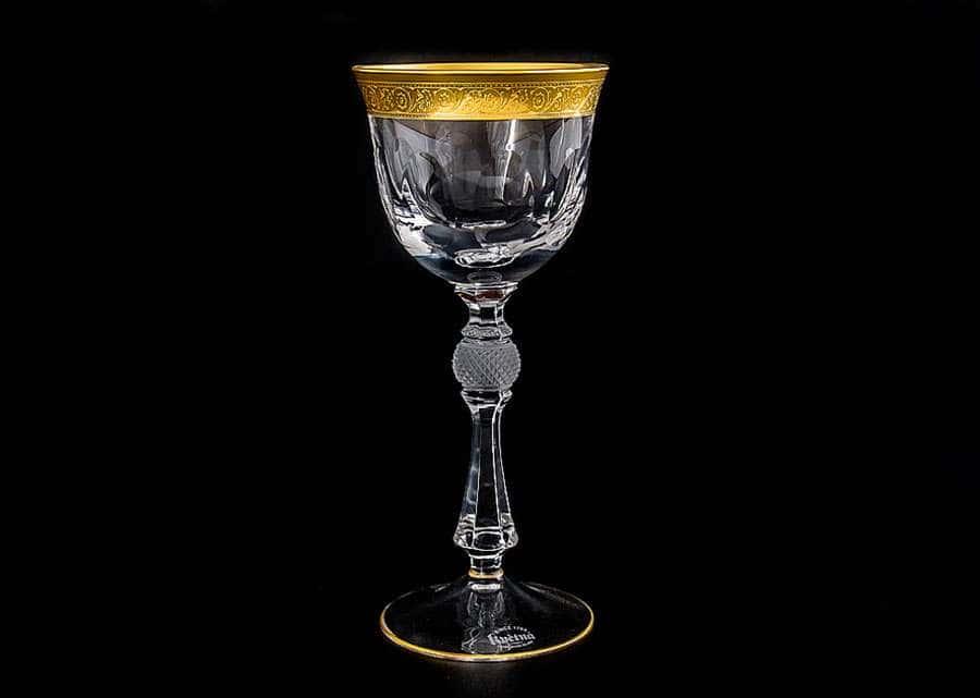 Джесси Кристалайт Набор бокалов для вина Kvetna 170 мл Чехия